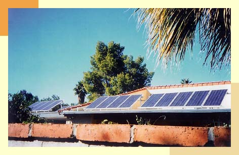 Roof Mount Solar Panels