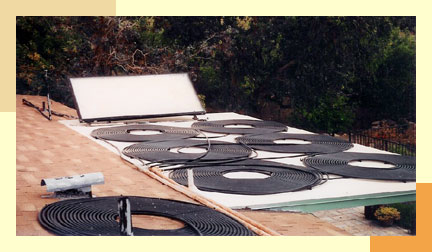 Solar Coils for Pool Heating